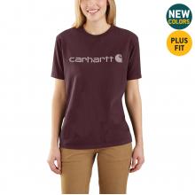 Women's WK195 Workwear Logo SS Tshirt by Carhartt in Lafayette CO