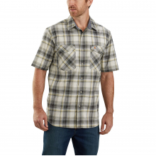 TW171 M RF Rlxd Fit SS Pld Shirt by Carhartt