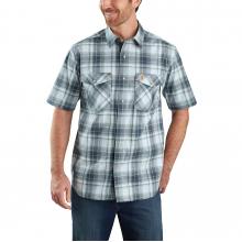 TW171 M RF Rlxd Fit SS Pld Shirt by Carhartt