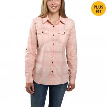 TW230 W RF Slghtly Fttd LS Pld Shirt