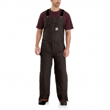 M Quilt Lined Washed Duck Bib Overalls by Carhartt in Lafayette CO