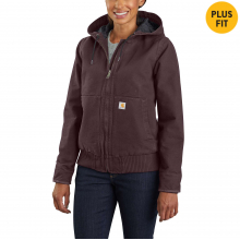 Women's WJ130 Washed Duck Active Jac by Carhartt in Lafayette CO