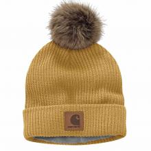 Women's Knit Flce Lnd Hat
