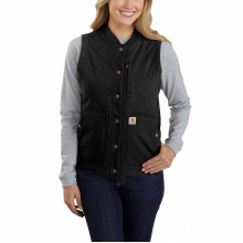 Women's RF Canvas Ins Rib Collar Vest by Carhartt