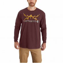 Men's TK436 M Org Fit HW LS Hunt Tshrt by Carhartt