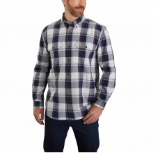 Men's TW447 M Org Fit Chmbray LS Pld Shirt by Carhartt