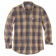 Men's TW447 M Org Fit Chmbray LS Pld Shirt by Carhartt in Lafayette CO