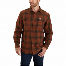 Men's TW451 M Org Fit Flnl LS Pld Shirt by Carhartt