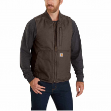 Men's OV395 Washed Duck Vest by Carhartt