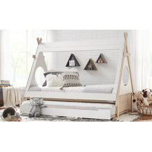 Sierra Teepee Bed & Trundle Twin Bed with Trundle