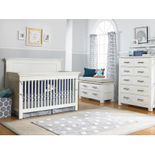 Lucca Flat Top Conv Full Panel Crib