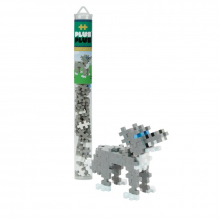 70 pc Tube - Gray Wolf by Plus-Plus