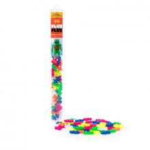 70 pc Tube - Neon Mix by Plus-Plus in Loveland CO