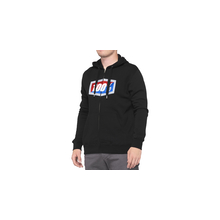 Official Hooded Zip Sweatshirt by 100percent Brand