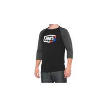 Stripes 3/4 Sleeve Tech T-Shirt by 100percent Brand