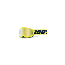 Accuri 2 Youth Goggle Fluo Yellow - Mirror Gold Lens