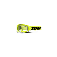 Racecraft 2 Goggle Fluo Yellow - Clear Lens by 100percent Brand