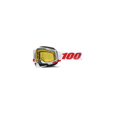 Racecraft 2 Snowmobile Goggle St-Kith - Yellow Lens by 100percent Brand