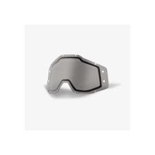 Rc1/Ac1/St1 Accuri Forecast Replacement Lens Dual Pane W/Mud Visor W/Bumps Smoke
