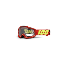 Accuri Enduro Moto Goggle Saarinen Clear Dual Lens by 100percent Brand