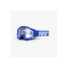Accuri Enduro Mtb Goggle Reflex Blue Clear Vented Dual Lens by 100percent Brand