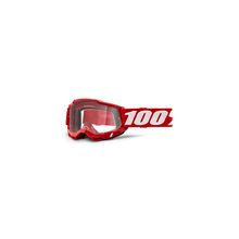 Accuri 2 Otg Goggle Red - Clear Lens by 100percent Brand