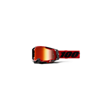 Racecraft 2 Goggle Red - Mirror Red Lens by 100percent Brand