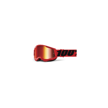 Strata 2 Youth Goggle Red - Mirror Red Lens