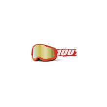 Strata 2 Goggle Orange - Mirror Gold Lens