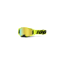 Armega Goggle Nuclear Citrus Gold Mirror Lens by 100percent Brand