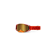 Armega Goggle Litkit True Gold Mirror Lens by 100percent Brand
