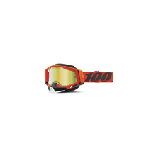 Racecraft 2 Snowmobile Goggle Kerv - Mirror Gold Lens by 100percent Brand