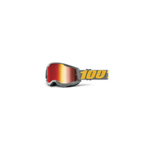 Strata 2 Goggle Izipizi - Mirror Red Lens by 100percent Brand