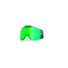 Rc1/Ac1/St1 Replacement Lens Dual Pane Anti-Fog Vented Green Mirror by 100percent Brand