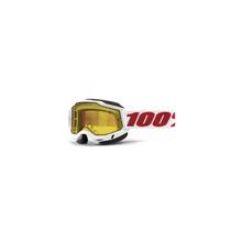 Accuri 2 Snowmobile Goggle Denver - Yellow Vented Dual Lens
