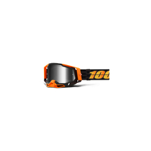 Racecraft 2 Goggle Costume 2 - Mirror Silver Lens by 100percent Brand