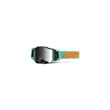 Armega Goggle Clark Silver Flash Mirror Lens by 100percent Brand