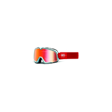 Barstow Goggle Carlyle True Red Lens by 100percent Brand