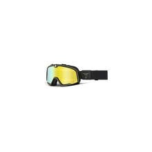 Barstow Goggle Caliber - Flash Yellow Lens by 100percent Brand