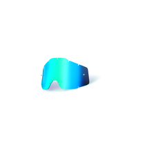 Rc1/Ac1/St1 Replacement Lens Anti-Fog Blue Mirror/Blue by 100percent Brand