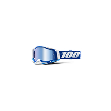 Racecraft 2 Goggle Blue - Mirror Blue Lens by 100percent Brand