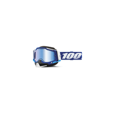 Racecraft 2 Snowmobile Goggle Blue - Mirror Blue Lens by 100percent Brand