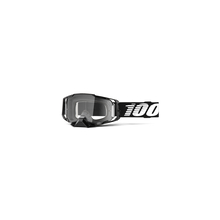 Armega Goggle Black Clear Lens by 100percent Brand