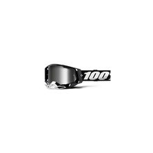 Racecraft 2 Goggle Black - Mirror Silver Lens by 100percent Brand