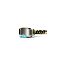 Racecraft 2 Goggle Airblast - Mirror Silver Lens by 100percent Brand