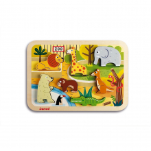 Zoo Chunky Puzzle by Janod