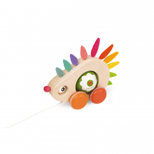 """""""Zigolos"""" Pull Along Hedgehog by Janod in Chelan WA"""
