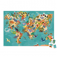 Educational Puzzle- The Dinosaurs - 200 Pcs by Janod in Chelan WA