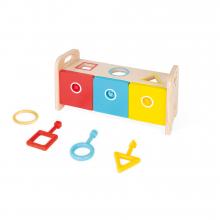 Essentiel - Shape Sorter Box With Keys by Janod in Marshfield WI
