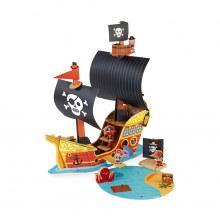 Story Pirate Ship by Janod in Marshfield WI